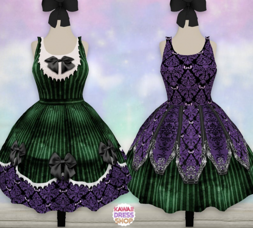 Haunted Mansion-Inspired Dress
