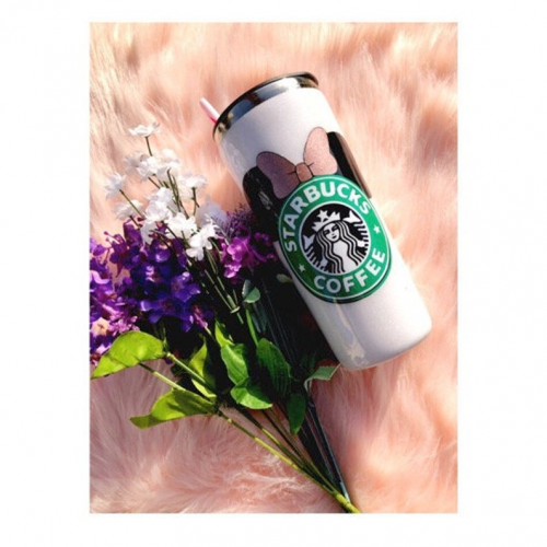 Minnie Starbucks Tumbler Front