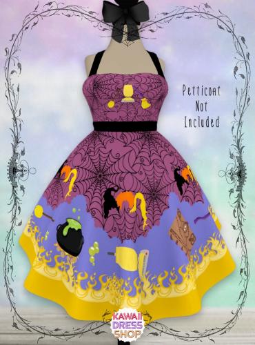Hocus Pocus-Inspired Dapper Day Dress