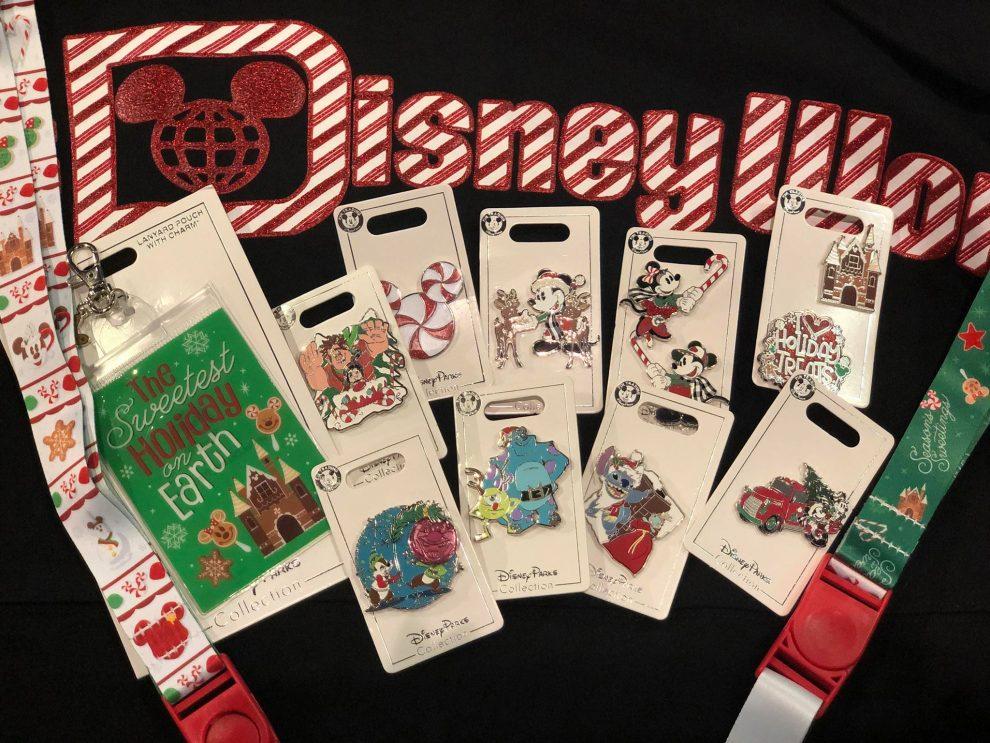 2019 Disney Holiday Pins