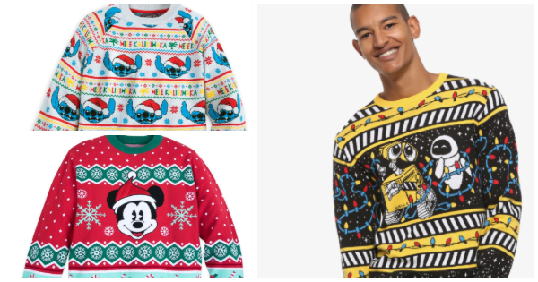Disney Holiday Sweaters