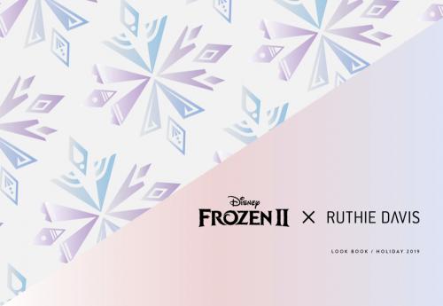 Ruthie Davis Frozen II-Inspired Shoe Collection Logo