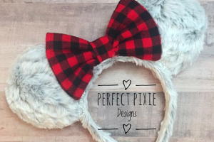Farmhouse Minnie Holiday Ears