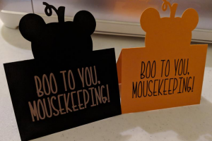 Halloween Mousekeeping Tip Envelope 1