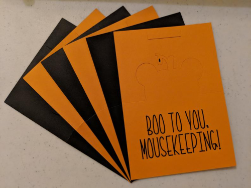 Halloween Mousekeeping Tip Envelope 3