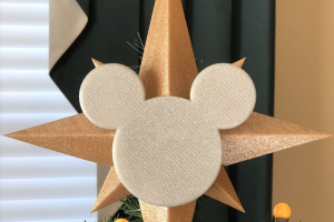 Star and Icon Tree Topper