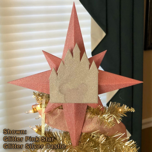 Star and Castle Tree Topper