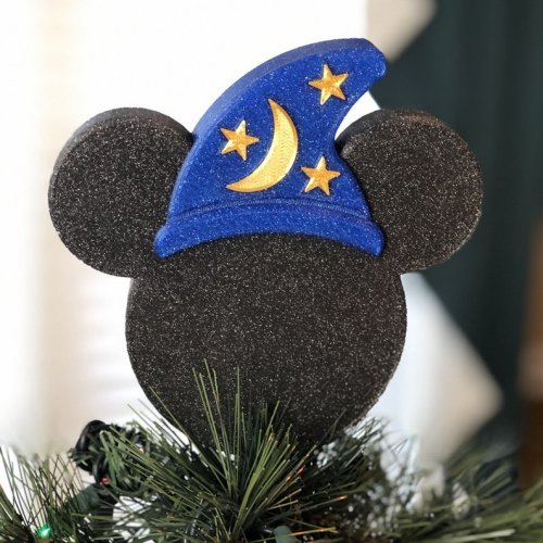 Small Sorcerer Mickey Tree Topper