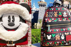 Holiday Disney Loungefly Bags