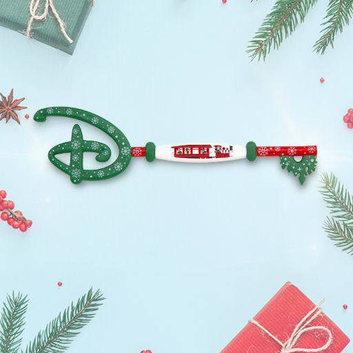 Disney Store Holiday Key