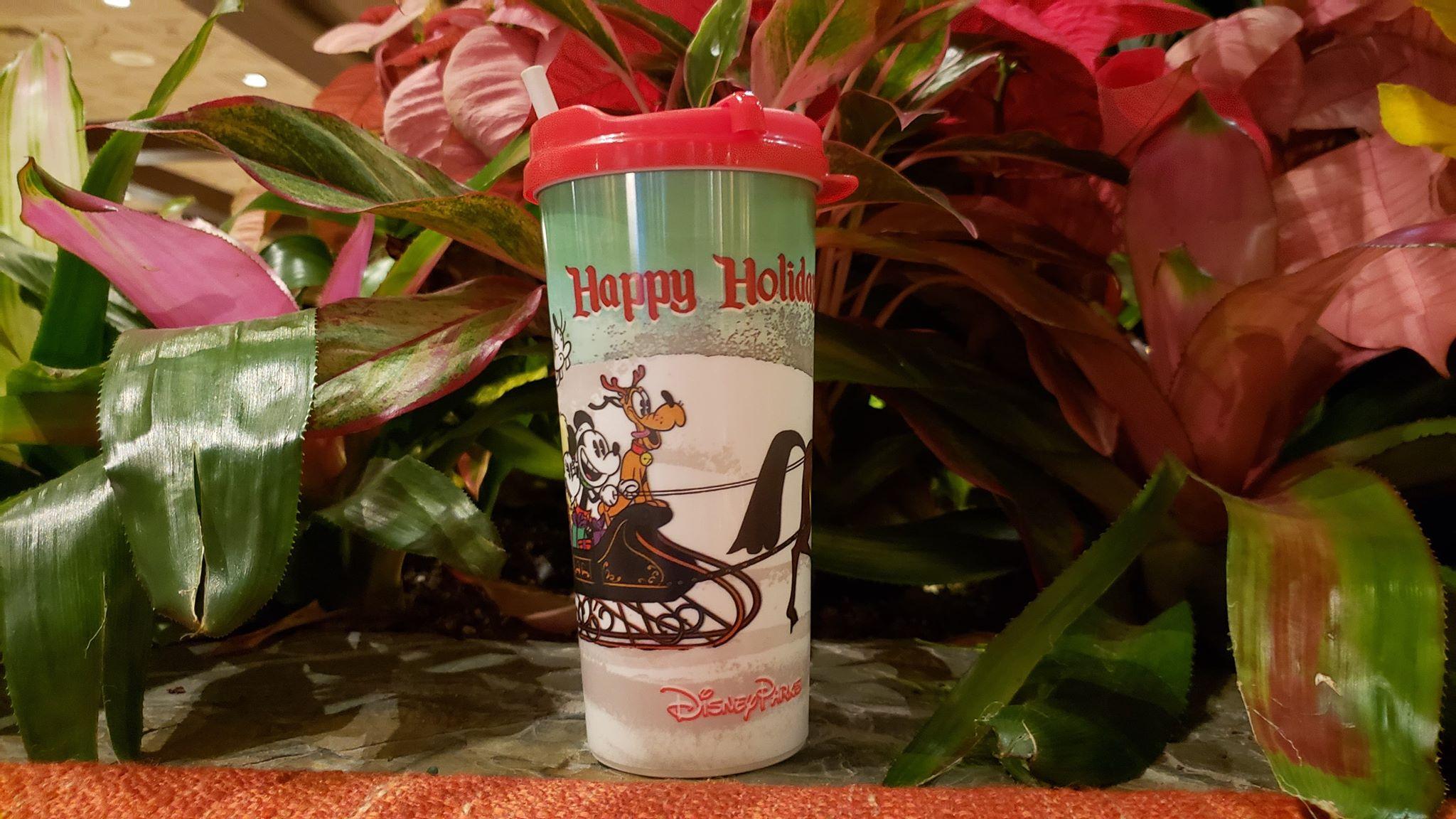 Disney Resort Holiday Refillable Mug