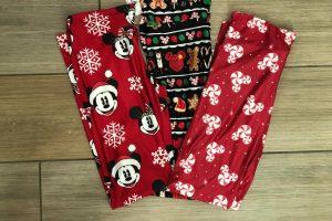 Disney Holiday Leggings