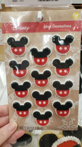 Mickey Icing