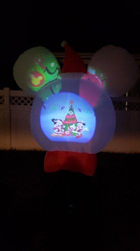 Mickey Projector Snow Globe