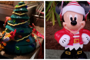 Disney Holiday Popcorn Buckets