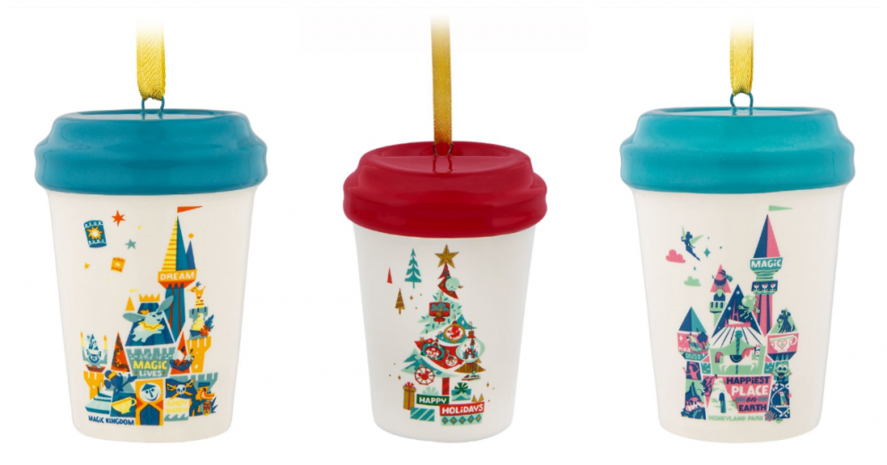 Disney Starbucks Mug Ornaments