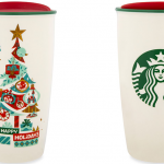 Disney Parks Holiday Starbucks Tumbler