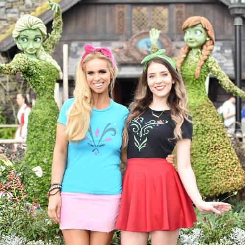 Elsa and Anna Tees