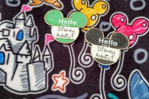 Disney Addict Pin