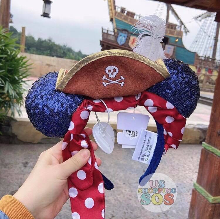 Pirate Minnie Ears
