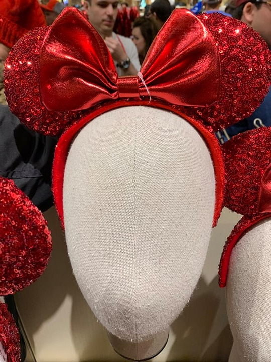 Redd Minnie Mouse Ears
