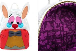 White Rabbit Loungefly Backpack