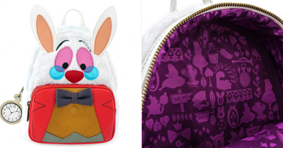 White Rabbit Loungefly Backpack