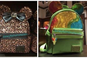 Sequined Aulani Backpacks