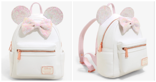 Iridescent Minnie Mouse Backpack