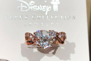 Rose Gold Mickey Ring
