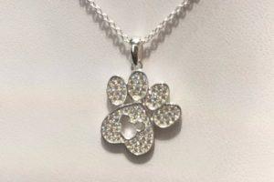 Disney Dog Paw Necklace