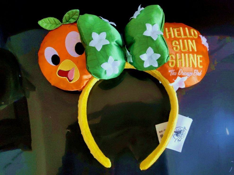 Orange Bird Minnie Ears