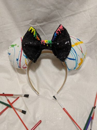 5 Artistic Mouse Ears For Epcot Festival Of The Arts