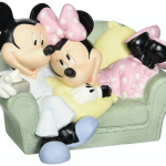 Mickey and Minnie Figurine