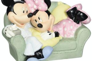 Mickey and Minnie Figurine