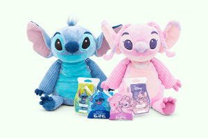 Stitch And Angel Scentsy Buddies