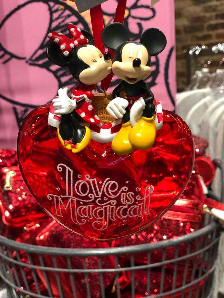 Disney Parks Valentine's Day Ornament