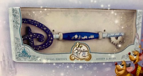 Disney Store Opening Ceremony Cinderella 70th Anniversary Key US Box Version