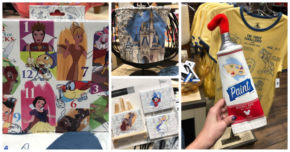 Disney Ink And Paint Collection