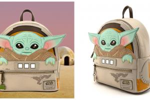 Baby Yoda Loungefly Backpack