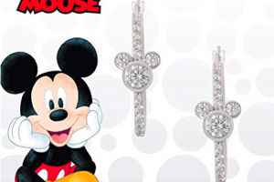 Mickey Hoop Earrings