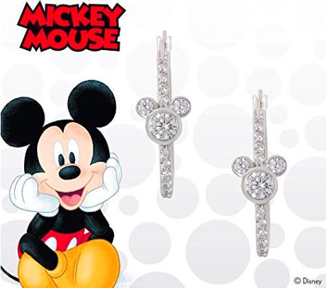 Mickey Hoop Earrings