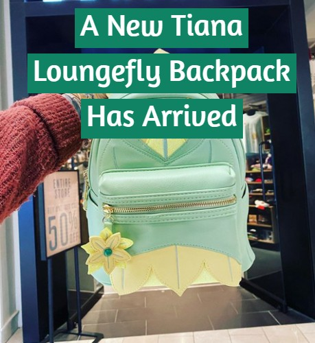 Tiana Loungefly Backpack