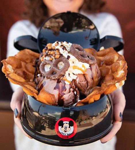 Mickey Mouse Ice Cream Bowl