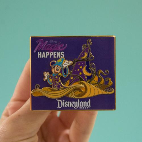 Magic Happens Pin