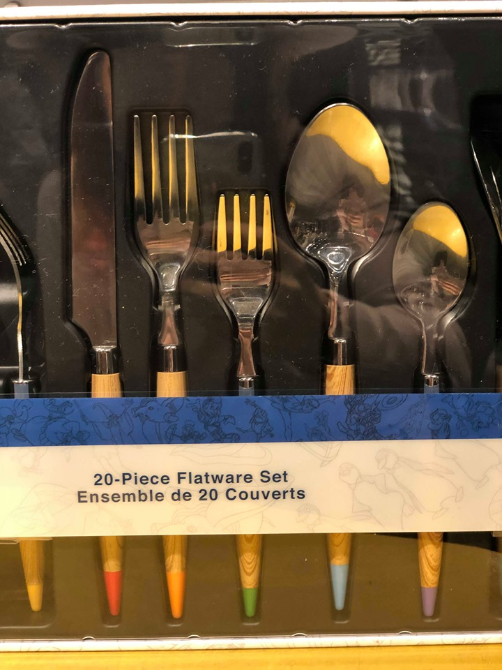 Disney Ink and Paint Flatware