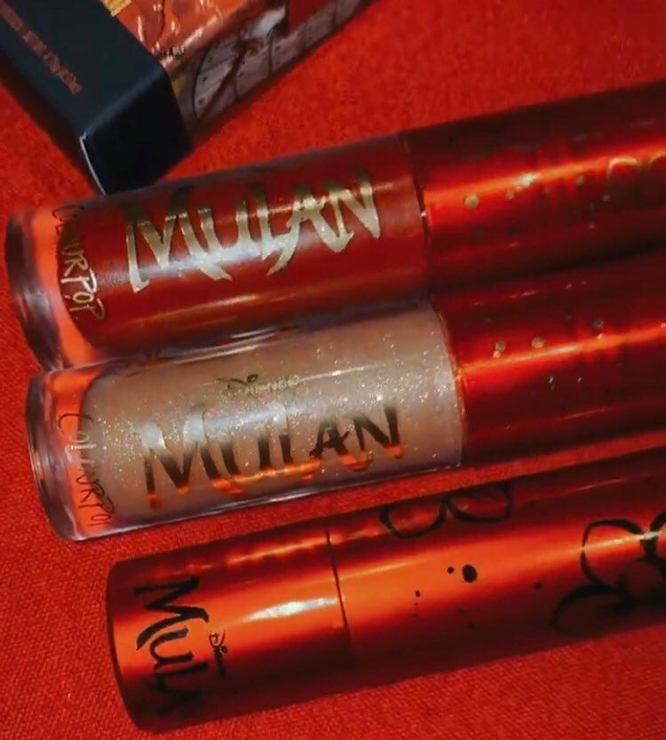 Mulan Colourpop Collection