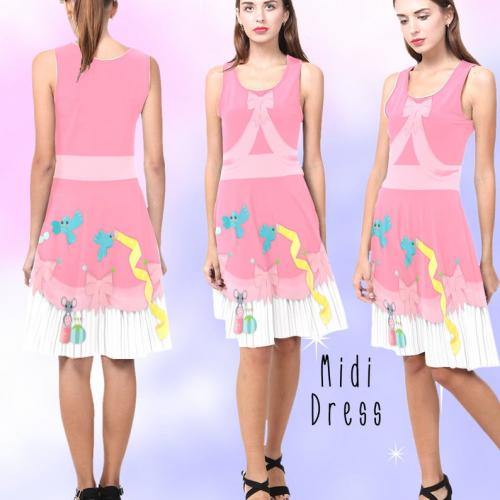 Pink Cinderella Dress