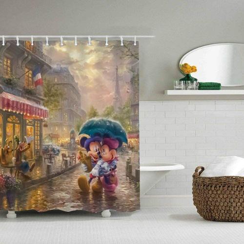 Thomas Kinkade Shower Curtain