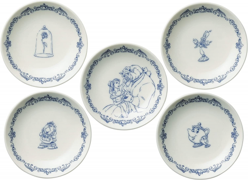 Beauty and The Beast Dish Set